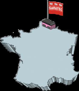 carte france garatec