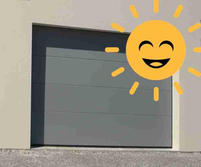 moteur garage solaire