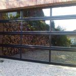 Porte de garage sectionnelle vitrée