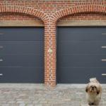 La qualité d'une porte de garage sectionnelle
