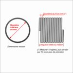 Comment mesurer les ressorts de porte sectionnelle ?