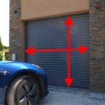 Prendre les mesures d'une porte de garage enroulable